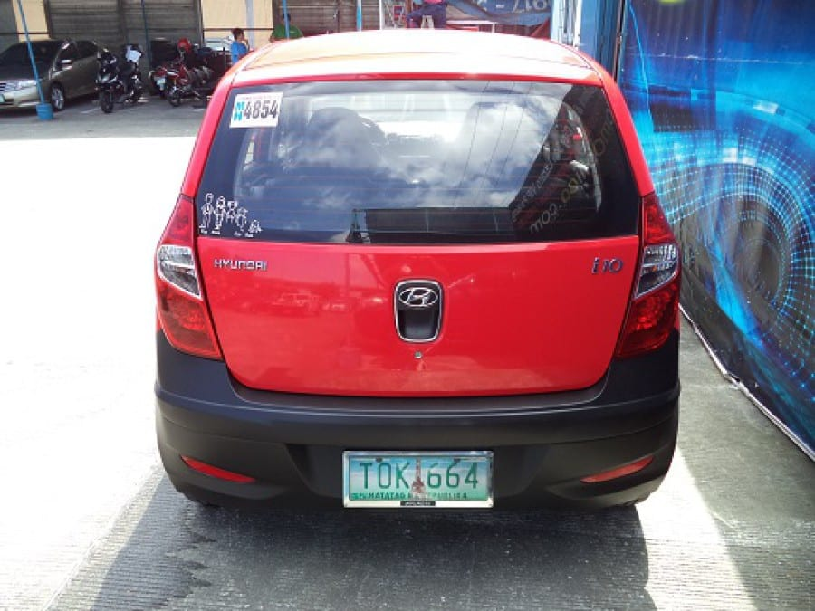 2012 Hyundai Getz - Rear View