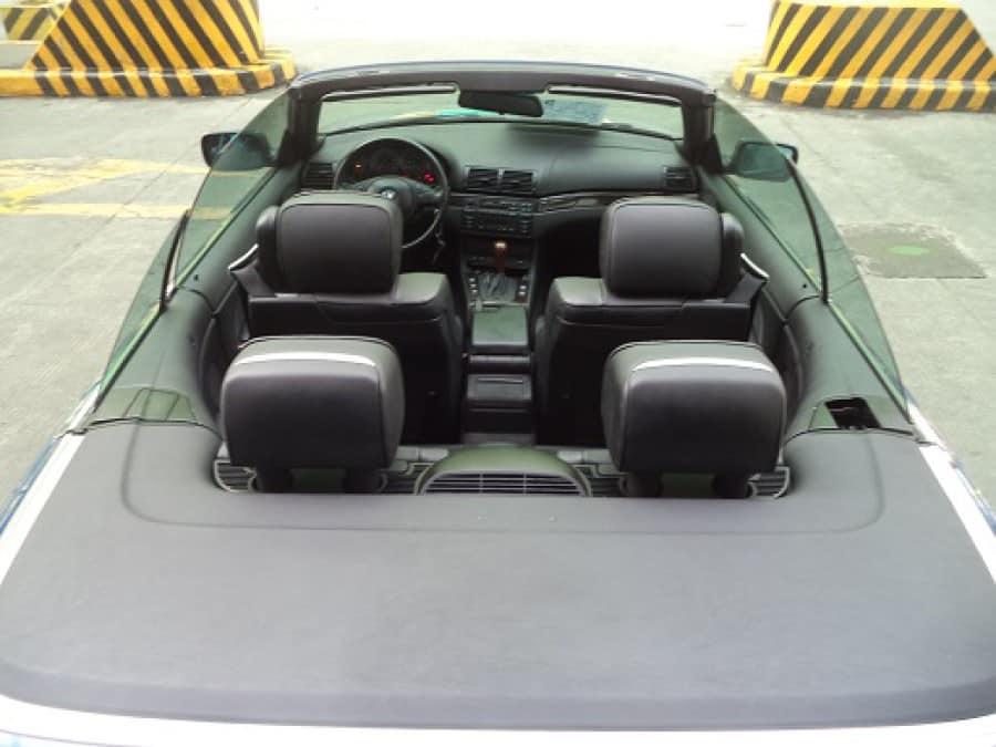 2001 BMW 330 - Interior Rear View