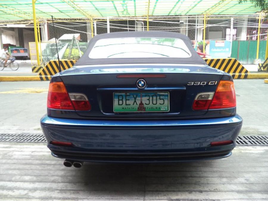 2001 BMW 330 - Rear View