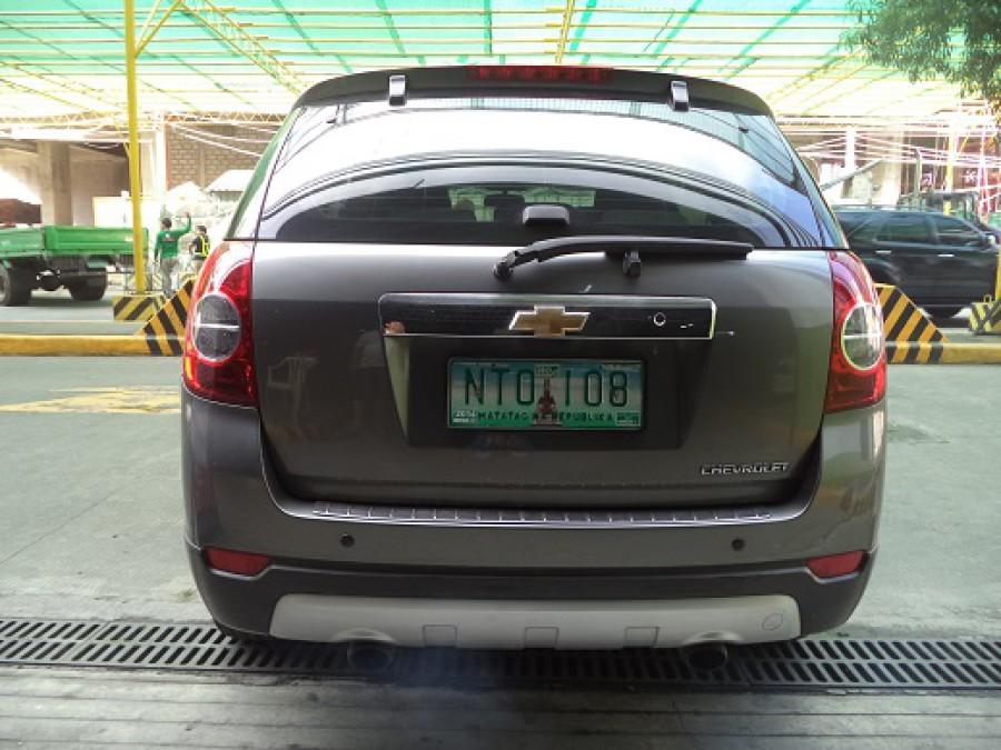 2009 Chevrolet Captiva - Rear View