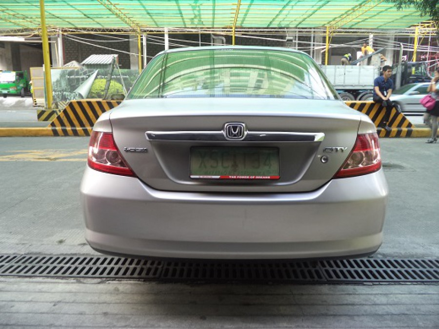 2005 Honda City - Rear View