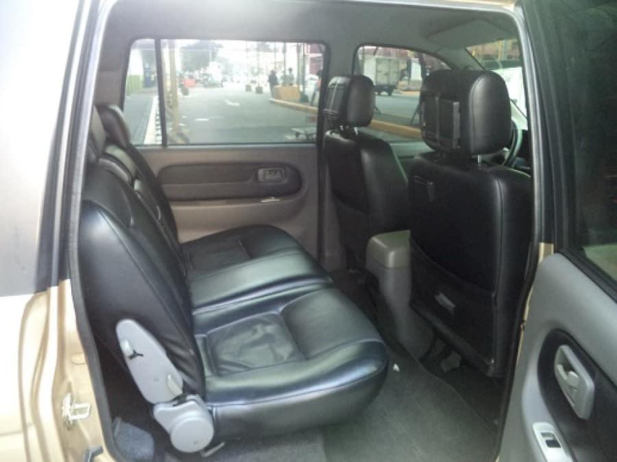 2006 Isuzu Sportivo - Interior Rear View