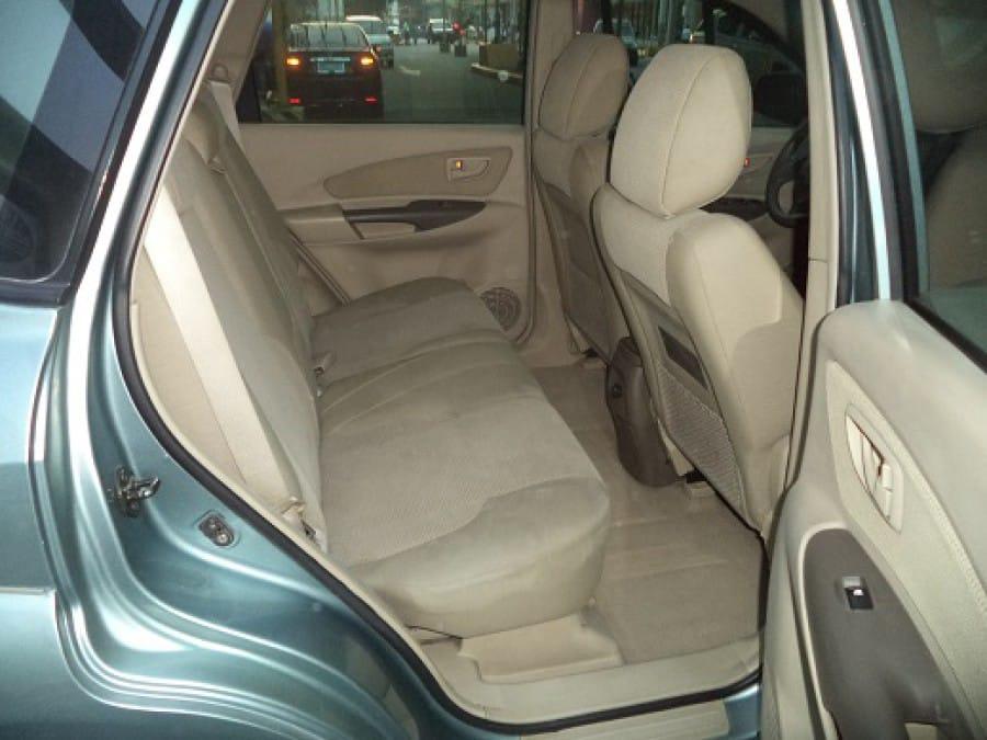 2006 Hyundai Tucson - Interior Rear View