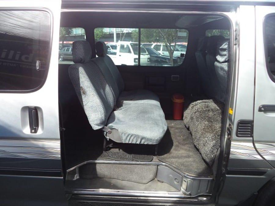 2001 Toyota HiAce - Interior Rear View