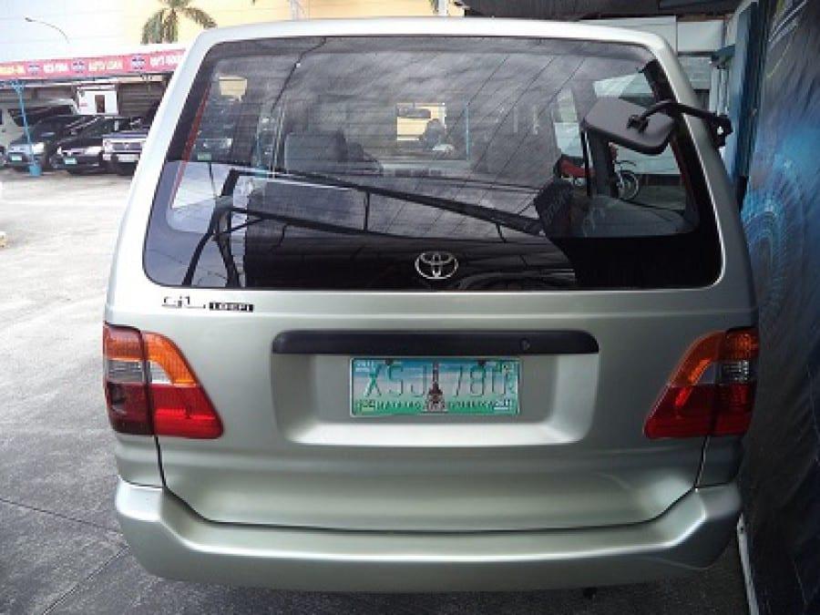 2004 Toyota Revo - Rear View