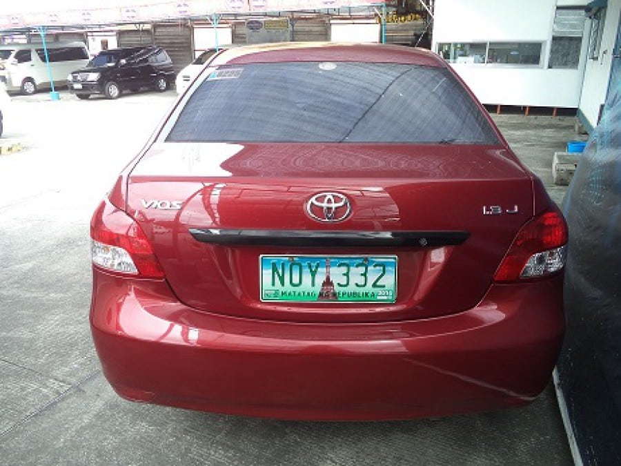 2010 Toyota Vios - Rear View