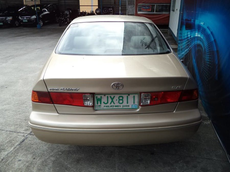 2001 Toyota Camry - Rear View