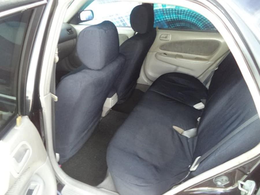 2000 Toyota Corolla - Interior Rear View