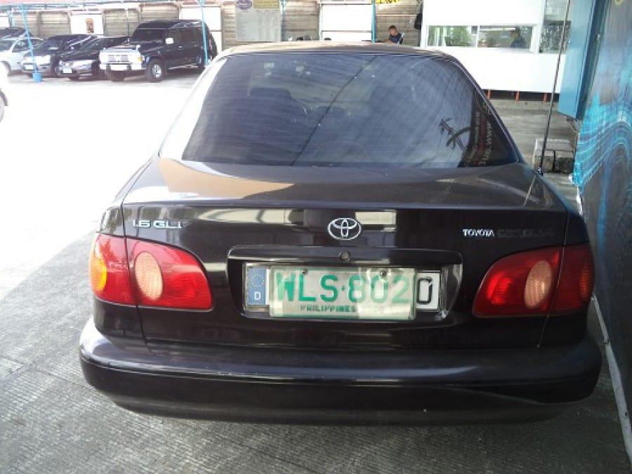 2000 Toyota Corolla - Rear View