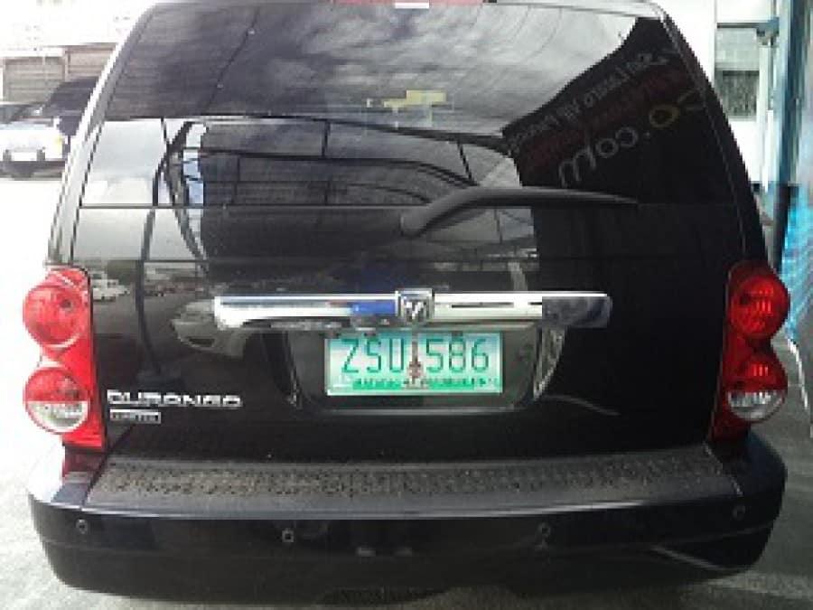 2008 Dodge Durango - Rear View