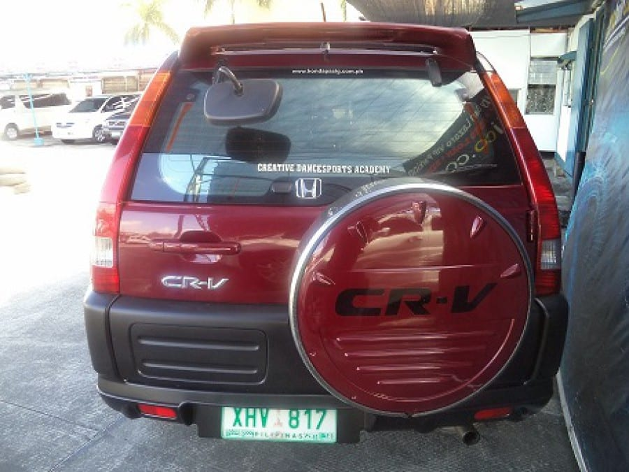 2002 Honda CR-V - Rear View
