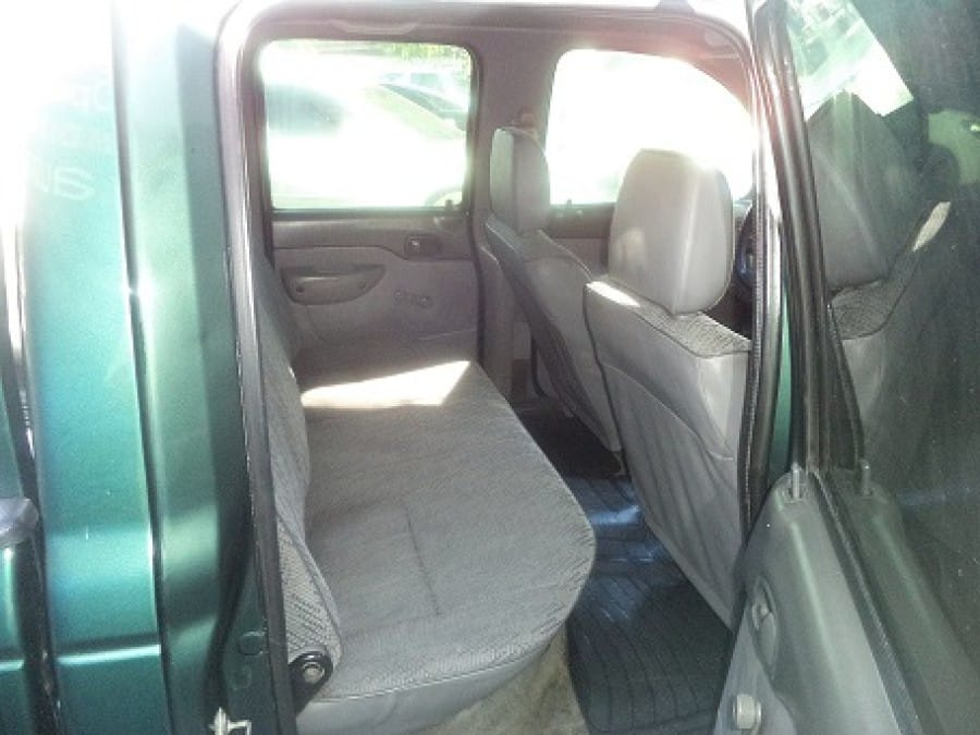 2001 Ford Ranger - Interior Rear View