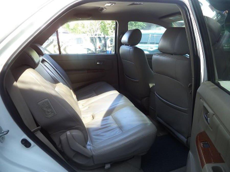 2009 Toyota Fortuner - Interior Rear View