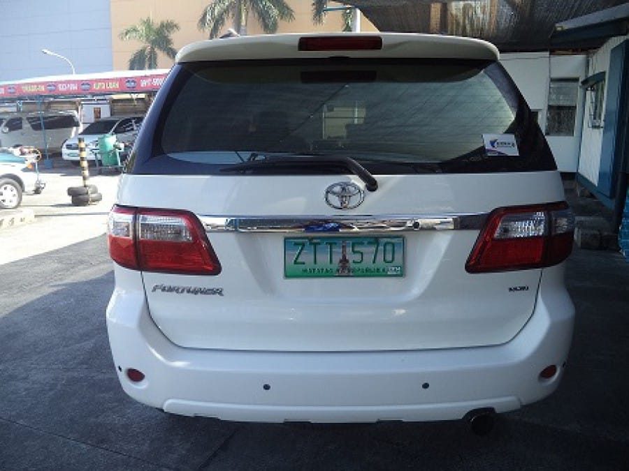 2009 Toyota Fortuner - Rear View