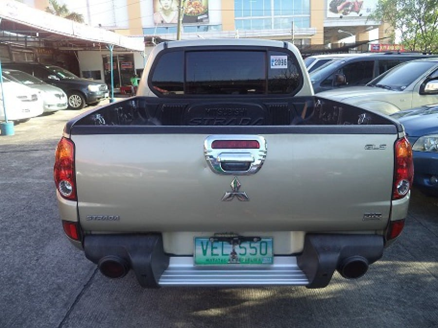 2010 Mitsubishi Strada - Rear View