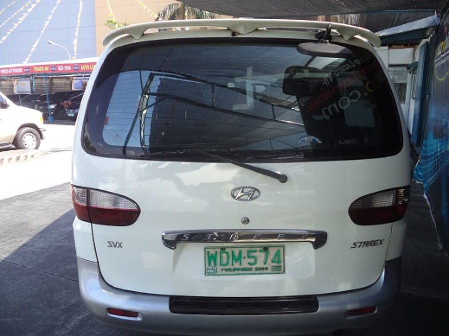 1998 Hyundai Starex - Rear View