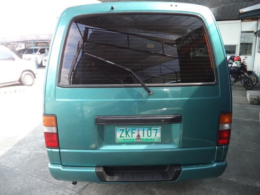 2007 Nissan Urvan - Rear View