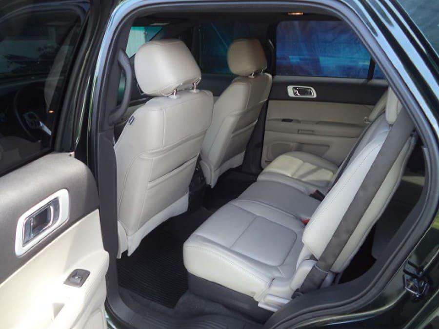 2013 Ford Explorer - Interior Rear View