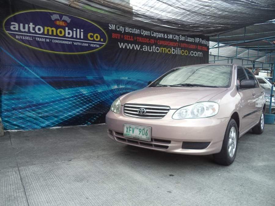 2002 Toyota Altis - Front View