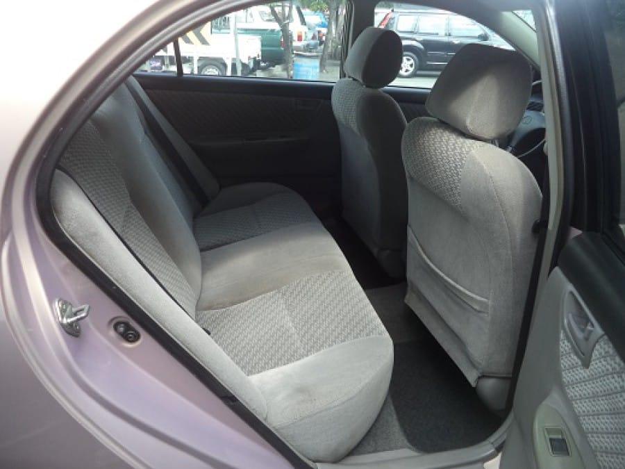 2002 Toyota Altis - Interior Rear View