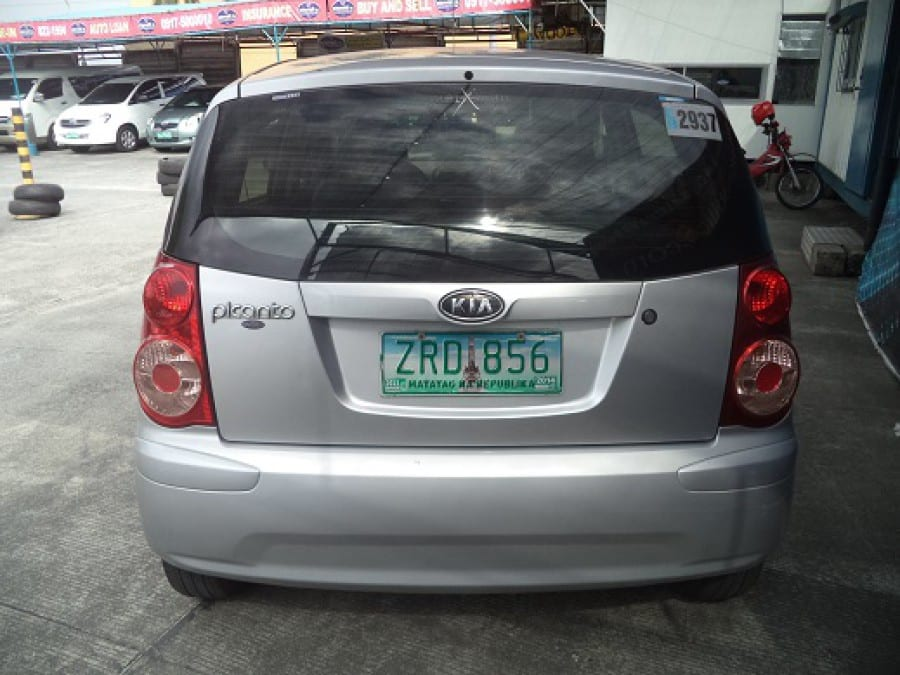 2008 Kia Picanto - Rear View