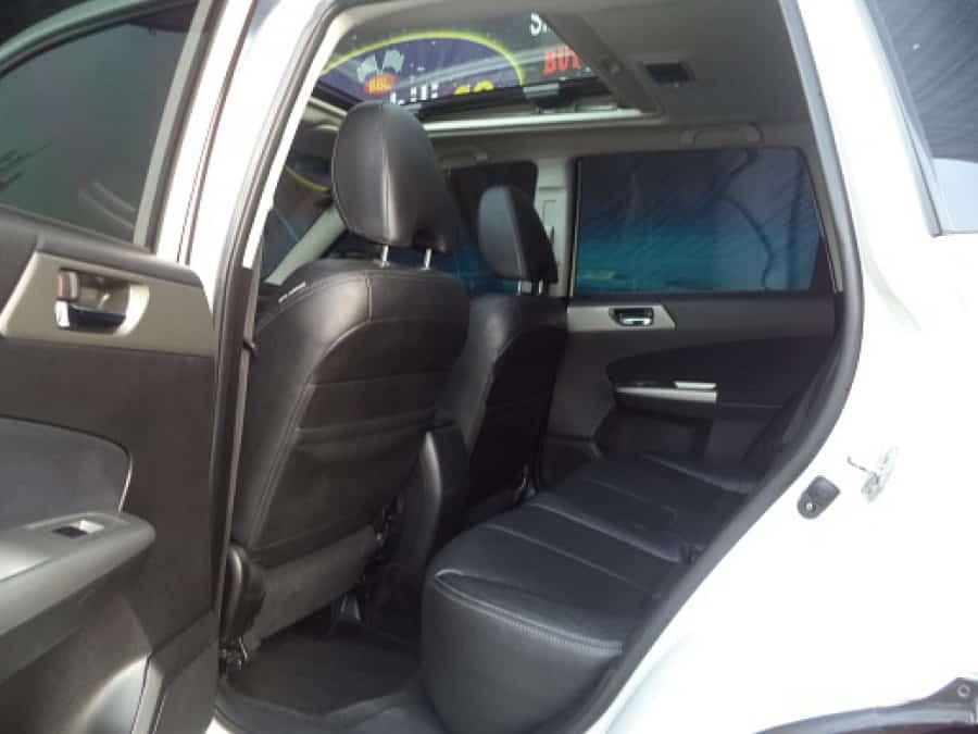 2010 Subaru Forester - Interior Rear View