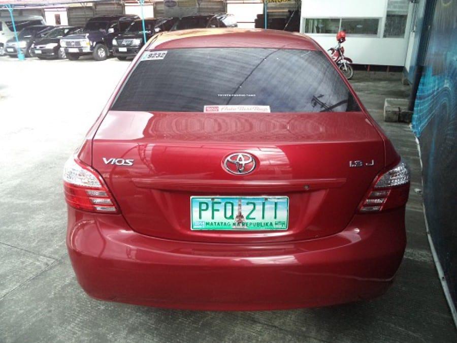 2011 Toyota Vios - Rear View