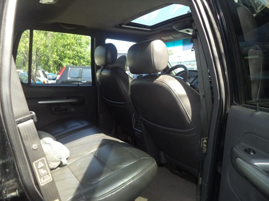 2002 Ford Explorer Sport Trac - Interior Rear View