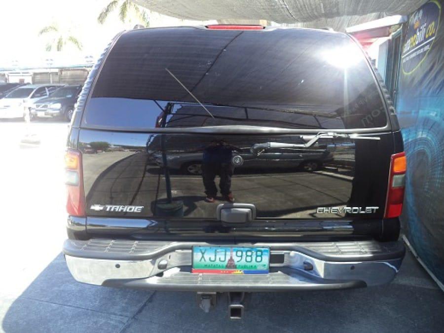 2002 Chevrolet Tahoe - Rear View