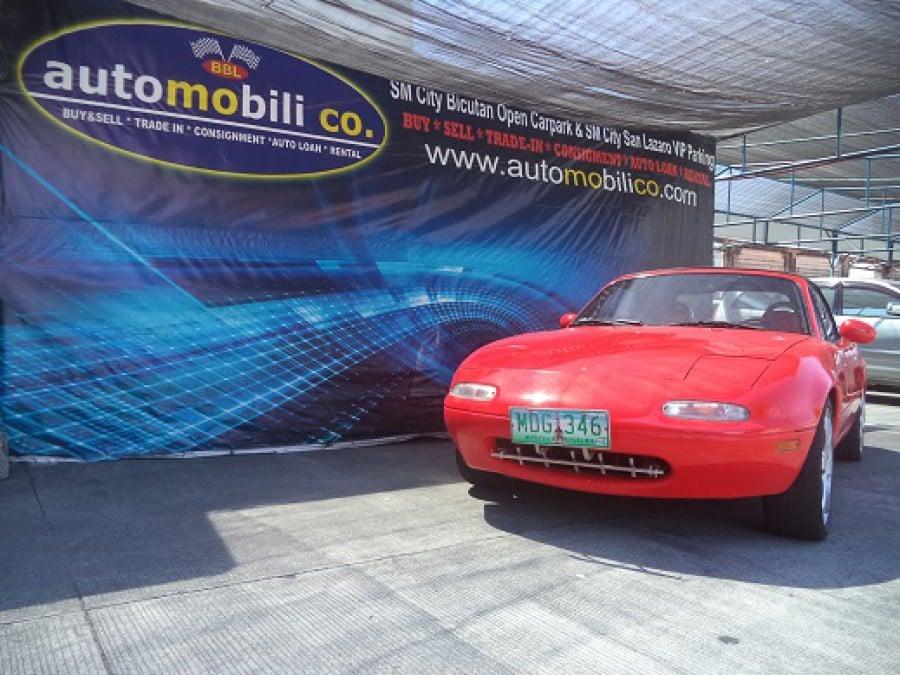 1991 Mazda Miata - Front View