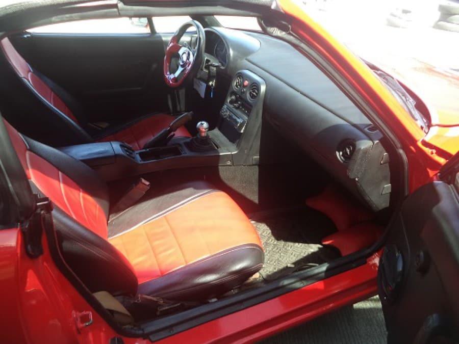 1991 Mazda Miata - Interior Rear View