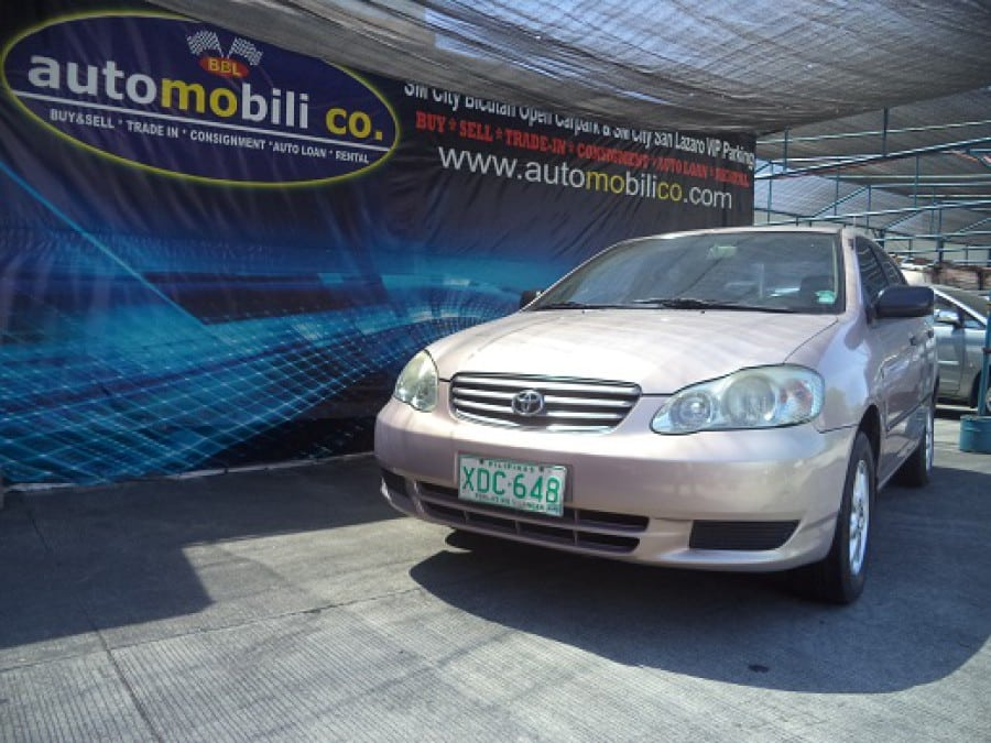 2001 Toyota Altis - Front View