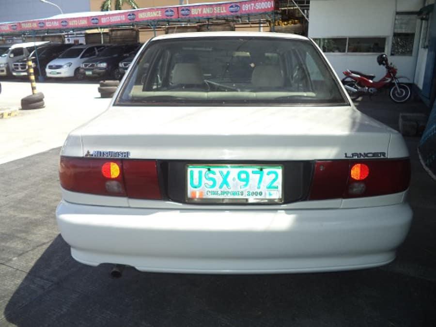 1997 Mitsubishi Lancer - Rear View