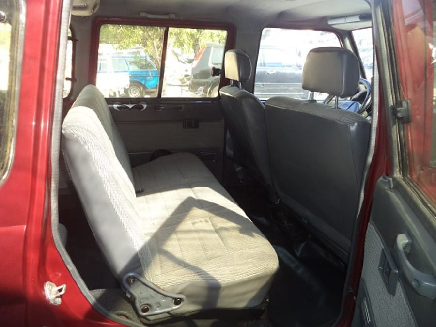 1998 Toyota Tamaraw FX - Interior Rear View