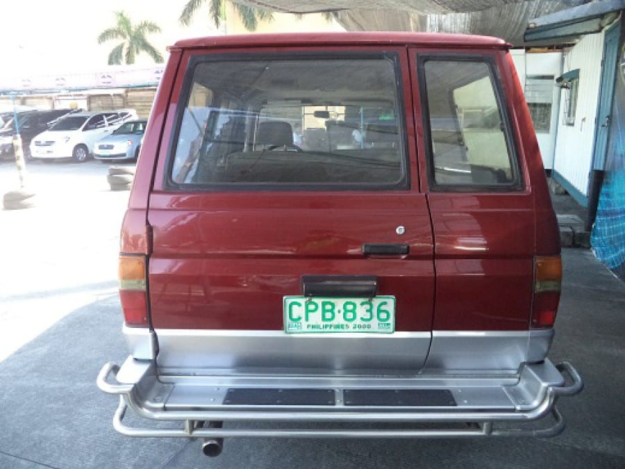 1998 Toyota Tamaraw FX - Rear View