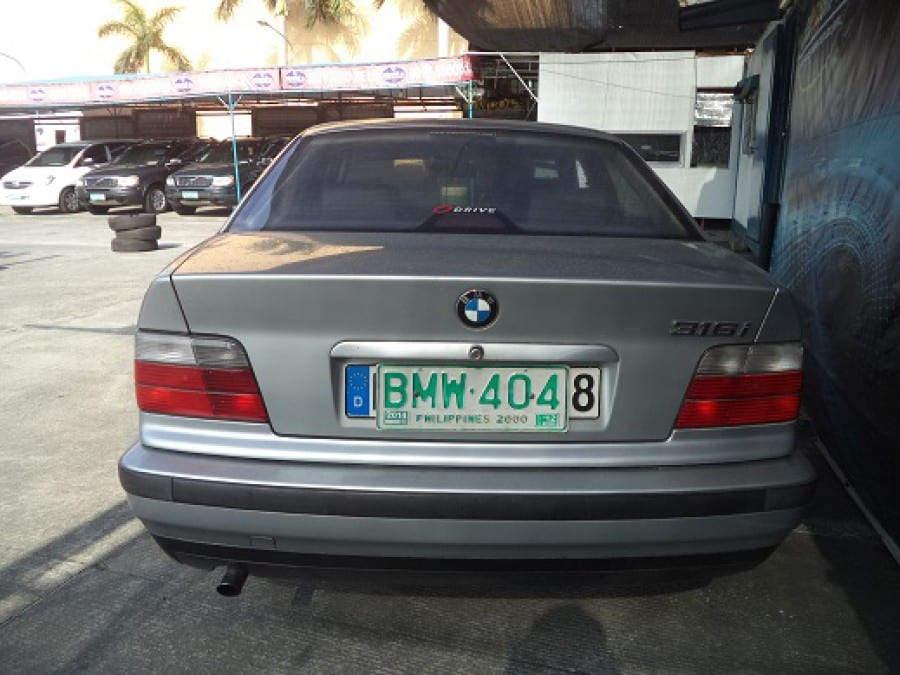 1998 BMW 316i - Rear View