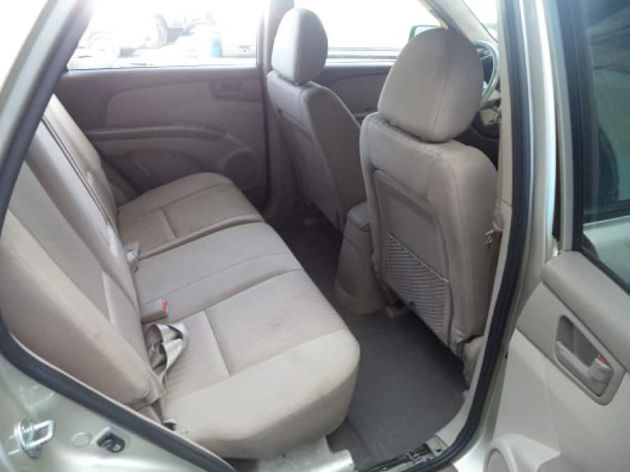 2009 Kia Sportage - Interior Rear View