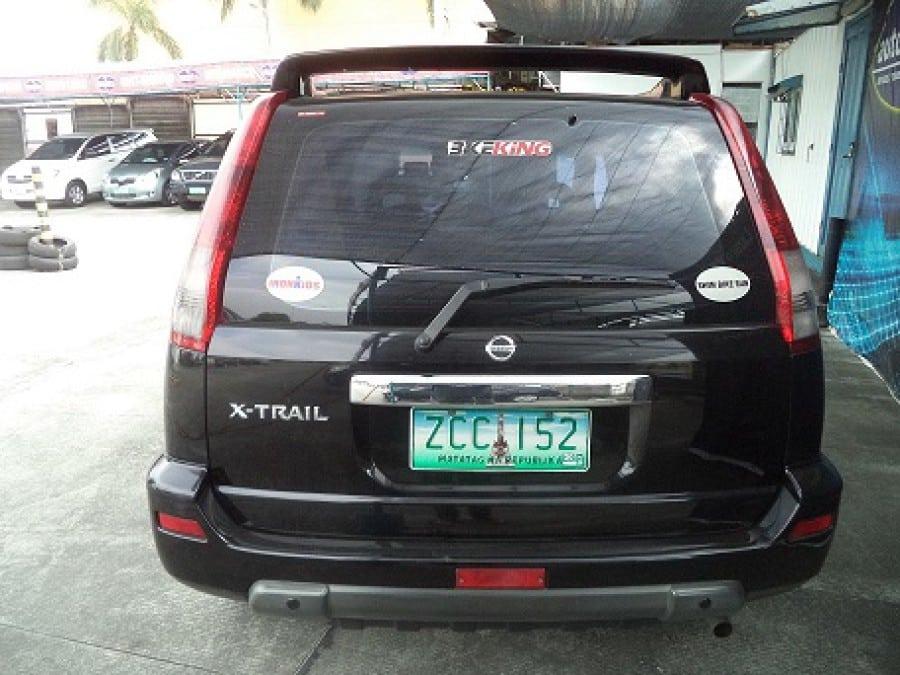 2005 Nissan X-Trail - Interior Rear View