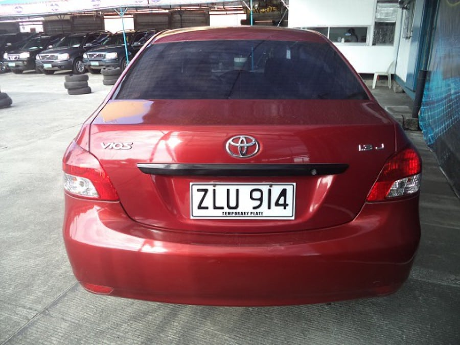 2007 Toyota Vios - Interior Rear View