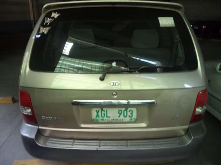 2003 Kia Sedona - Interior Rear View