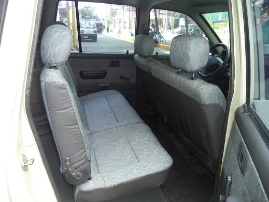 2002 Toyota Revo - Interior Rear View