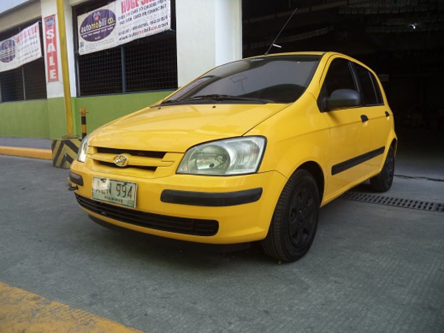 2006 Hyundai Getz - Front View