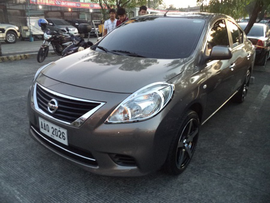 2014 Nissan Almera - Front View