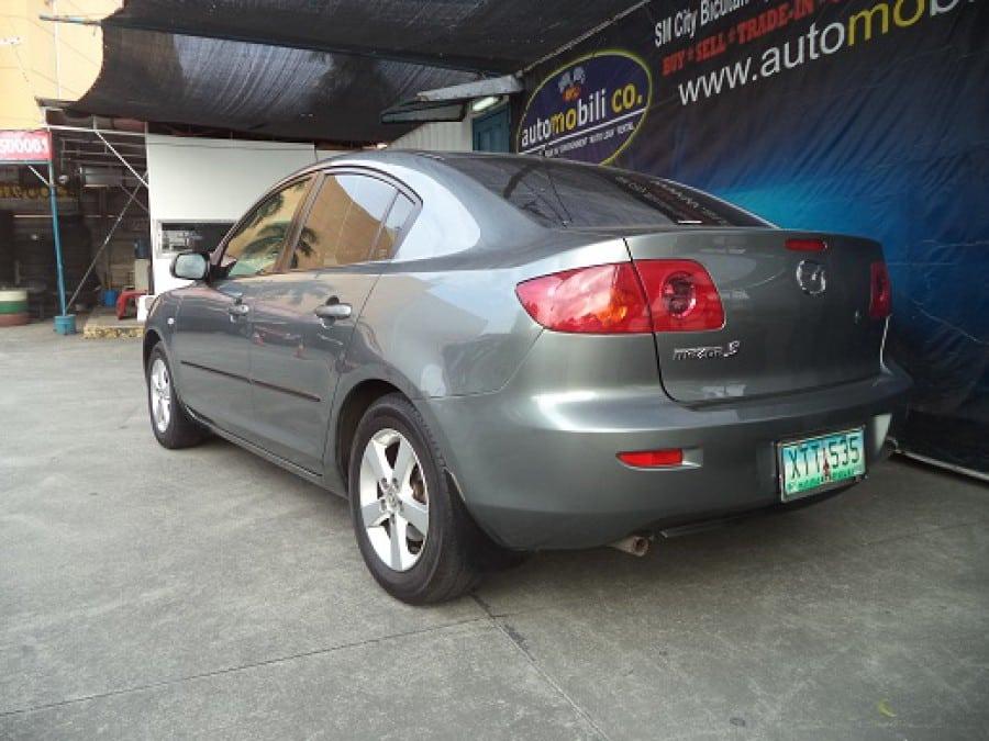 2009 Mazda 3 - Interior Rear View