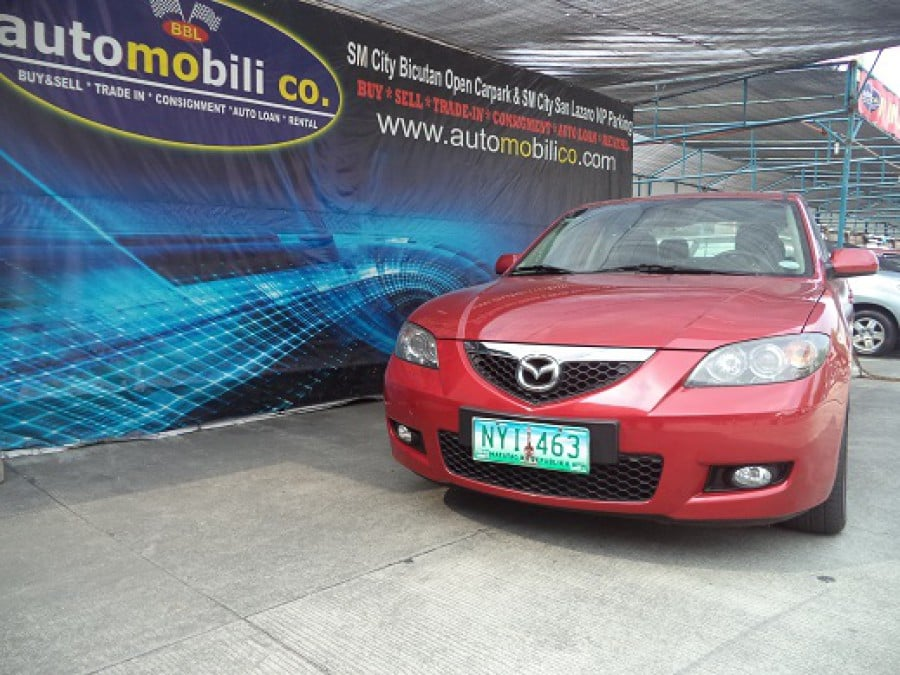 2009 Mazda 3 - Front View