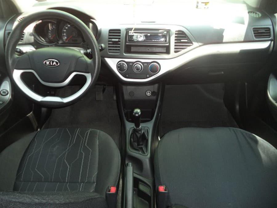 2012 Kia Picanto - Interior Front View