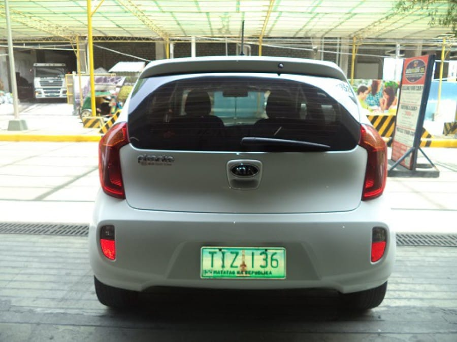 2012 Kia Picanto - Interior Rear View