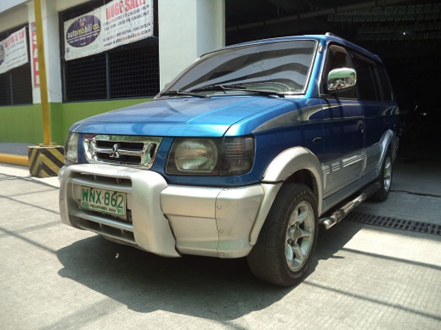 2000 Mitsubishi Adventure - Front View