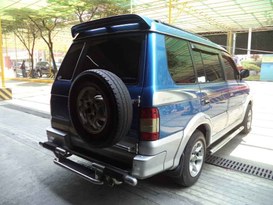 2000 Mitsubishi Adventure - Rear View