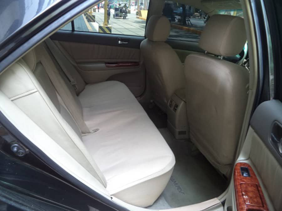 2004 Toyota Camry - Interior Rear View
